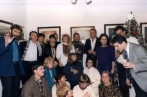 PAASowcy i ich goście podczas Bożonarodzeniowego spotkania w galerii